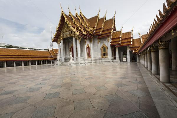 Bangkok Tailandia cielo arte piedra orar Foto stock © Mariusz_Prusaczyk