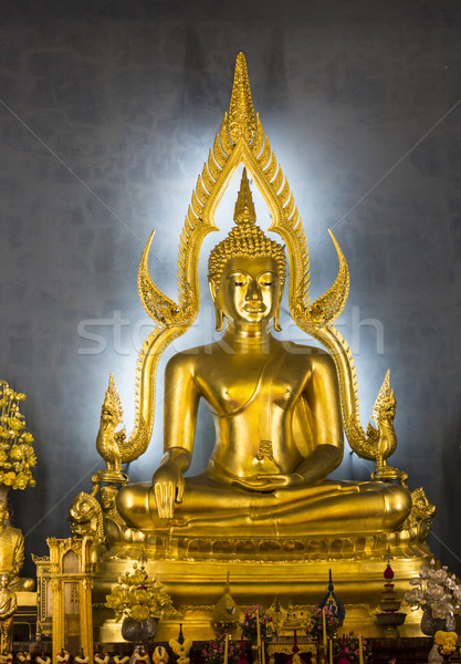 Будду храма Бангкок поклонения мира Сток-фото © Mariusz_Prusaczyk