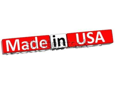 3D ABD beyaz iş toprak imzalamak Stok fotoğraf © Mariusz_Prusaczyk