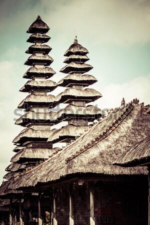 Bali Indonesia uomo sole bellezza nube Foto d'archivio © Mariusz_Prusaczyk