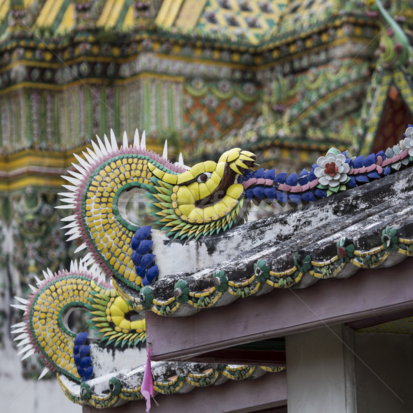美しい 寺 バンコク タイ 仏 ロイヤル ストックフォト © Mariusz_Prusaczyk