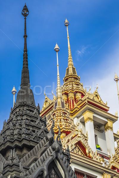 Metal palazzo Bangkok thai Thailandia castello Foto d'archivio © Mariusz_Prusaczyk