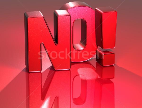 3D kelime kırmızı Internet gölge Stok fotoğraf © Mariusz_Prusaczyk
