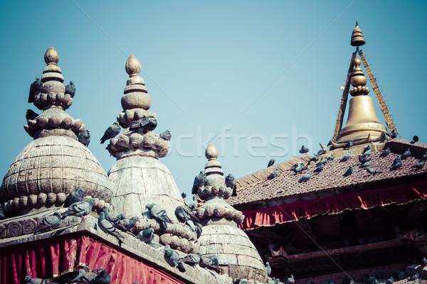 Noto piazza Nepal costruzione arte viaggio Foto d'archivio © Mariusz_Prusaczyk