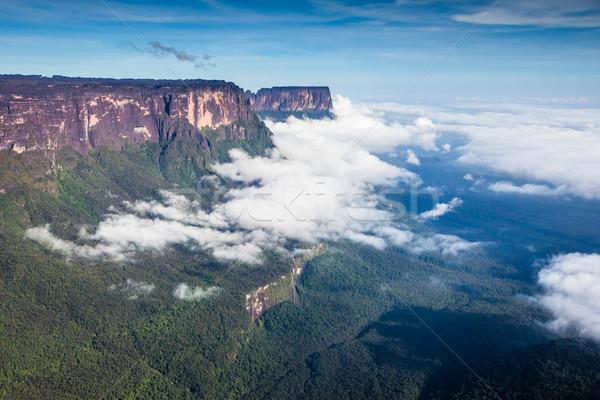 Görmek sis Venezuela latin amerika duvar doğa Stok fotoğraf © Mariusz_Prusaczyk