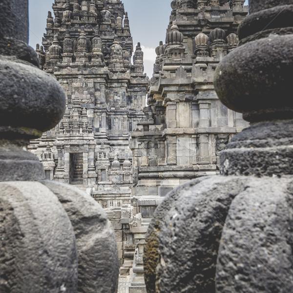 Templo java ilha Indonésia viajar nascer do sol Foto stock © Mariusz_Prusaczyk