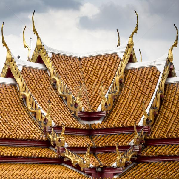 Niebo podróży kamień złota modlić architektury Zdjęcia stock © Mariusz_Prusaczyk