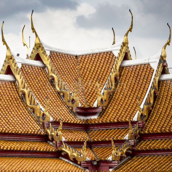 Bangkok Thailandia cielo viaggio pietra oro Foto d'archivio © Mariusz_Prusaczyk