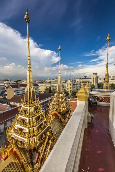 Stok fotoğraf: Metal · saray · Bangkok · Taylandlı · Tayland · kale