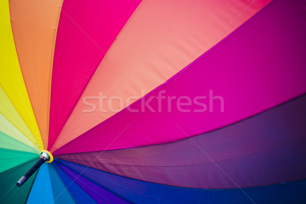 радуга зонтик небе солнце дизайна дождь Сток-фото © Mariusz_Prusaczyk