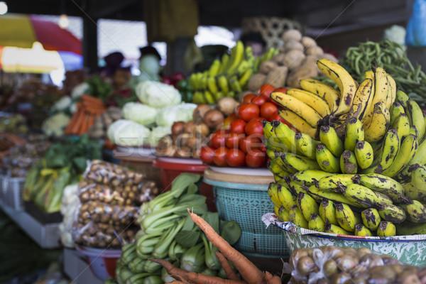 Otwarte powietrza owoców rynku w. bali Zdjęcia stock © Mariusz_Prusaczyk