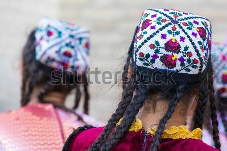 Preghiera ruote Nepal oro ruota cultura Foto d'archivio © Mariusz_Prusaczyk