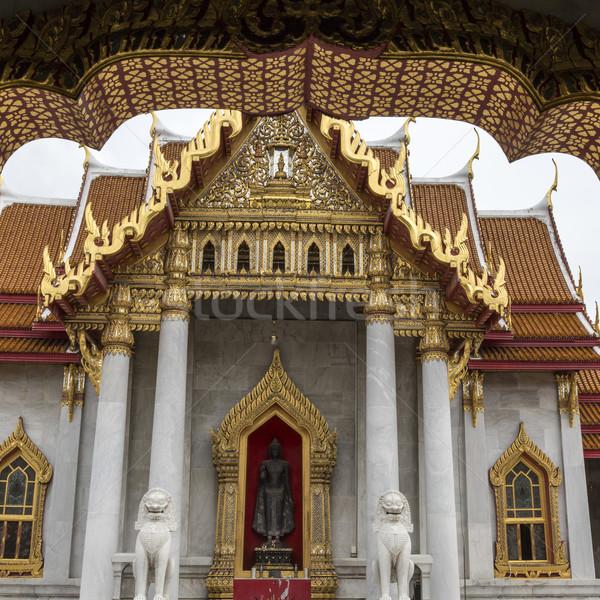 Бангкок Таиланд небе искусства путешествия молятся Сток-фото © Mariusz_Prusaczyk
