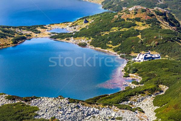 Lata dolinie wysoki góry Polska niebo Zdjęcia stock © Mariusz_Prusaczyk