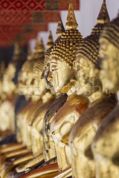 Immagini buddha Bangkok Thailandia testa asian Foto d'archivio © Mariusz_Prusaczyk