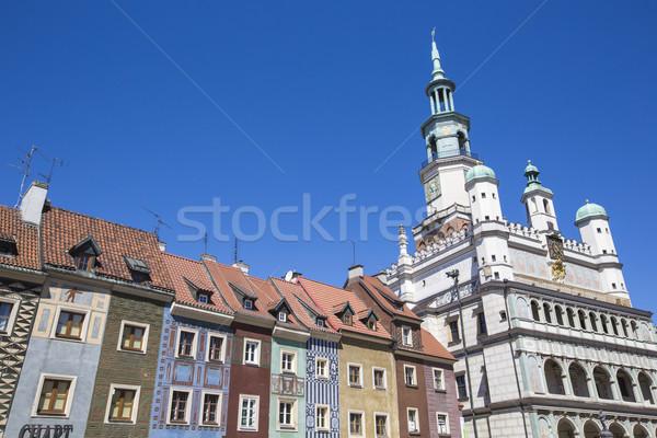 Domów ratusz starych rynku placu Polska Zdjęcia stock © Mariusz_Prusaczyk