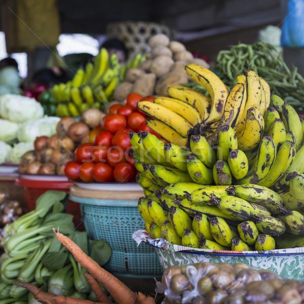 Nyitva levegő gyümölcs piac falu Bali Stock fotó © Mariusz_Prusaczyk