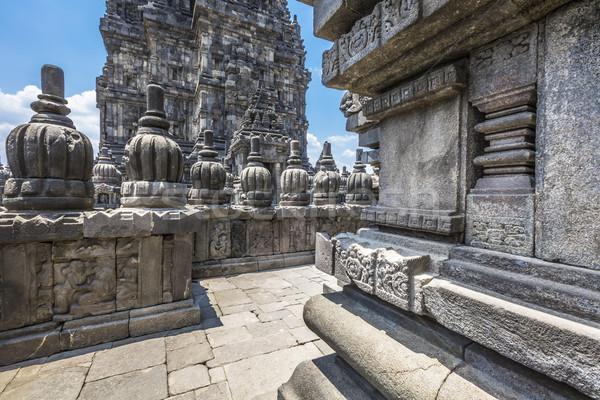 świątyni jawa wyspa Indonezja podróży Świt Zdjęcia stock © Mariusz_Prusaczyk