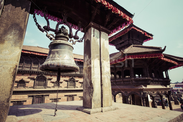 Kathmandu's Durbar Square, Nepal Stock photo © Mariusz_Prusaczyk