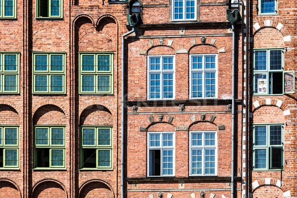 Colorful houses in Gdansk, Poland Stock photo © Mariusz_Prusaczyk