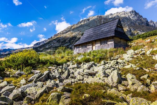 Sommer Tal groß Berge Polen Himmel Stock foto © Mariusz_Prusaczyk