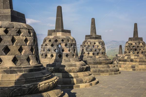 Monde patrimoine temple java Indonésie pierre Photo stock © Mariusz_Prusaczyk