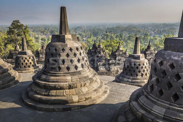 Stok fotoğraf: Tapınak · gün · batımı · java · Endonezya · ibadet · mimari