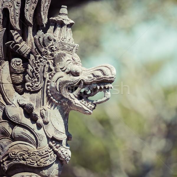 Tempel Indonesien schönen Baum Stock foto © Mariusz_Prusaczyk
