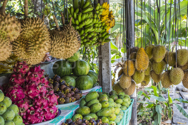 Open air fruit market in the village in Bali, Indonesia. Stock photo © Mariusz_Prusaczyk