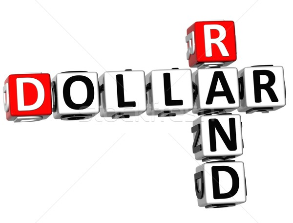 3D Dollar Rand Crossword Stock photo © Mariusz_Prusaczyk