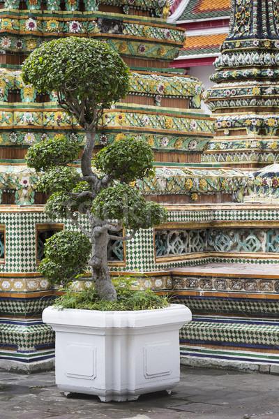 Mooie tempel Bangkok Thailand gebouw kunst Stockfoto © Mariusz_Prusaczyk