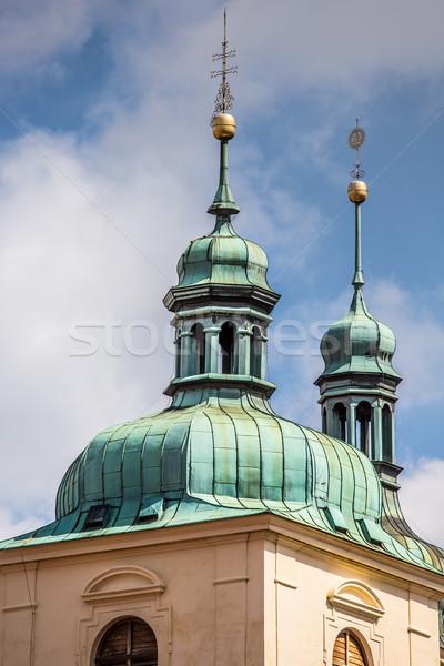 Kościoła święty katedry rynku vintage dachu Zdjęcia stock © Mariusz_Prusaczyk