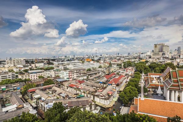 Stock photo: Bangkok Cityscape capital of Thailand and beautiful sky