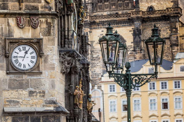 Prague, Old Town Hall (15th Century) Stock photo © Mariusz_Prusaczyk