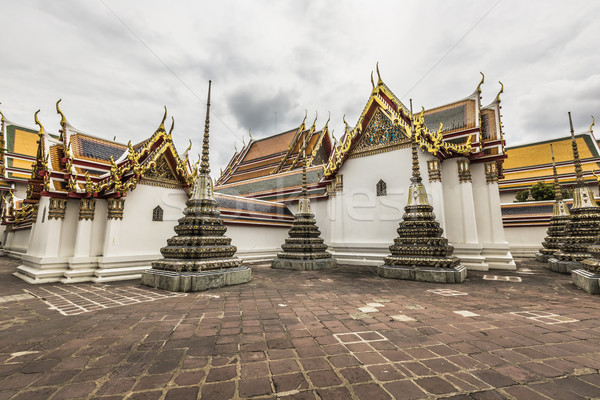 Wat Pho Temple at Thialand Stock photo © Mariusz_Prusaczyk
