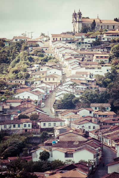 View of the unesco world heritage city of Ouro Preto in Minas Gerais Brazil  Stock photo © Mariusz_Prusaczyk