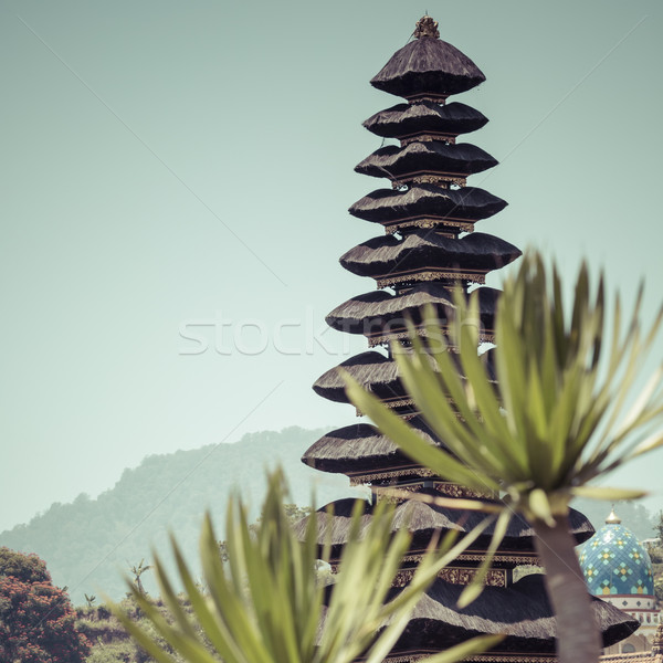 Noto tempio lago bali Indonesia panorama Foto d'archivio © Mariusz_Prusaczyk