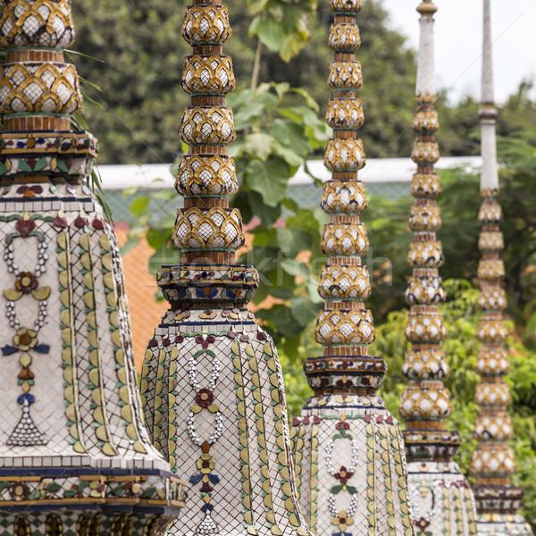 Belo templo Bangkok Tailândia edifício arte Foto stock © Mariusz_Prusaczyk