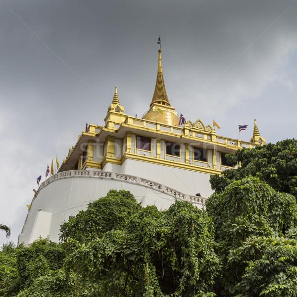 Montagna tempio thong Bangkok Thailandia Foto d'archivio © Mariusz_Prusaczyk