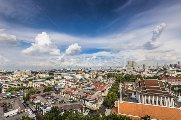Stock photo: Bangkok Cityscape capital of Thailand and beautiful sky