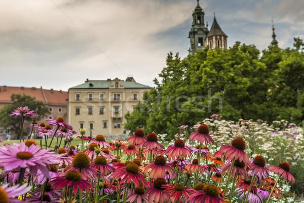 Garden in Wawel Castle, Cracow, Poland  Stock photo © Mariusz_Prusaczyk