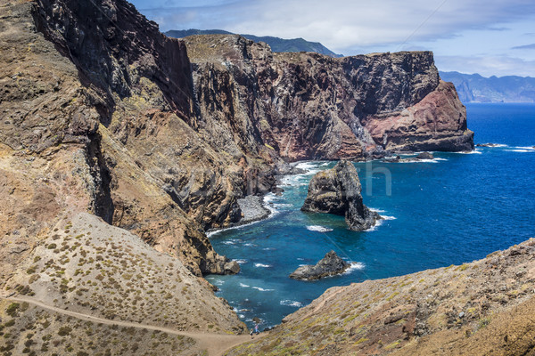 Ponta de Sao Lourenco, the eastern part of Madeira Island, Portu Stock photo © Mariusz_Prusaczyk