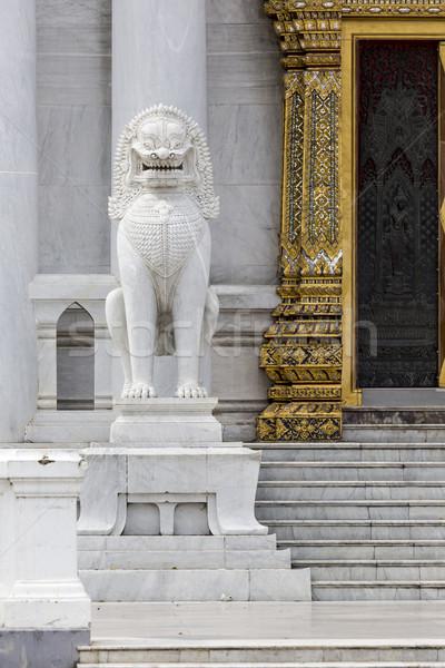 Bangkok Thailandia cielo arte pregare architettura Foto d'archivio © Mariusz_Prusaczyk