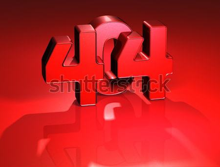 3D Word Sex on red background Stock photo © Mariusz_Prusaczyk