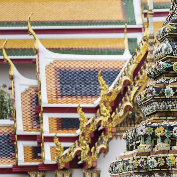 Beautiful Wat Pho temple in Bangkok Thailand Stock photo © Mariusz_Prusaczyk
