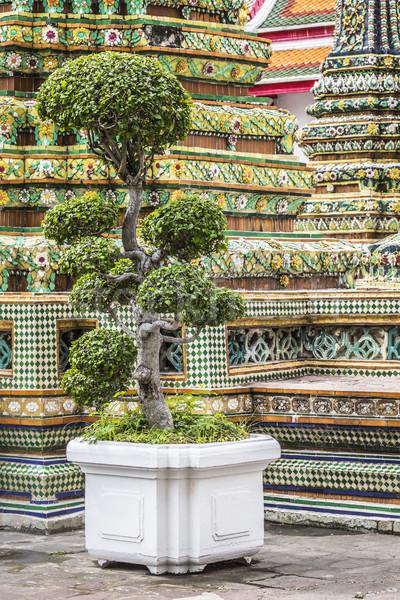 Wat Pho Temple at Thialand Stock photo © Mariusz_Prusaczyk