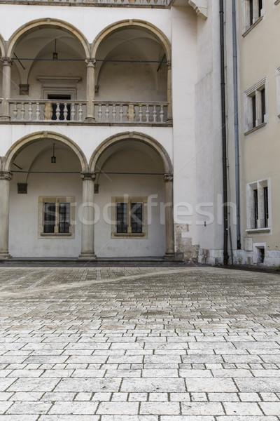 Real basílica colina cracovia Polonia mundo Foto stock © Mariusz_Prusaczyk
