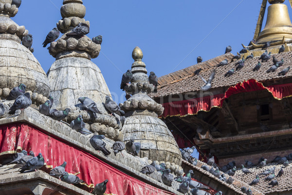 The famous Durbar square in Kathmandu, Nepal. Stock photo © Mariusz_Prusaczyk