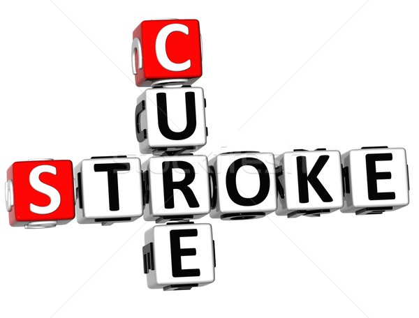 3D Cure Stroke Crossword Stock photo © Mariusz_Prusaczyk