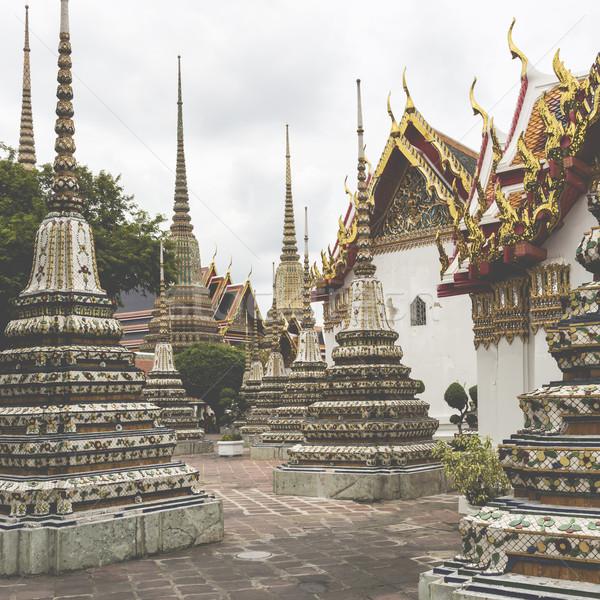 Piękna świątyni budynku tle podróży kolor Zdjęcia stock © Mariusz_Prusaczyk